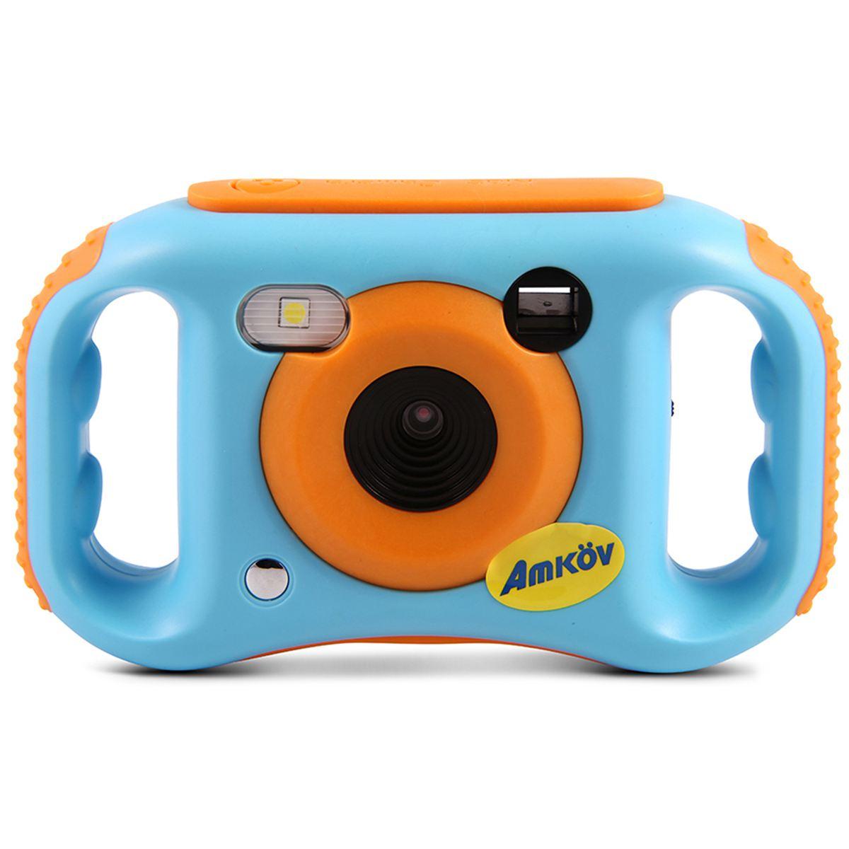 Amkov Kids Digital Video Camera WiFi Connection 5 Megapixels Gift For Children Boys Girls