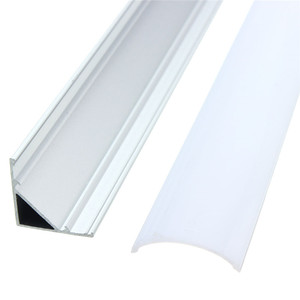 Image 3 - 30/45/50cm U/V/YW Style w kształcie światła typu LED Bar kanał aluminiowy uchwyt pokrywa mleka kończy się do taśmy LED akcesoria oświetleniowe