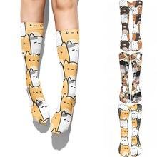 Высококачественные модные милые носки креативные Харадзюку кавайные