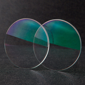 Image 4 - BCLEAR 1.60 Index Aspheric Clear Lens MR 8 Super Hard Optical Glasses Prescription Lenses Strong Anti Reflective for Rimless