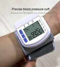 Household Medical Automatic Digital Wrist Blood Pressure Monitor Bp Tonometer Wrist  Sphygmomanometer Tensiometer tansiyon aleti