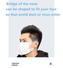 N95 3 Layer Surgical Mask anti virus protection Medical Masks Disposable Face Masks Elastic Ear Loop Dust Filter Safety Mask