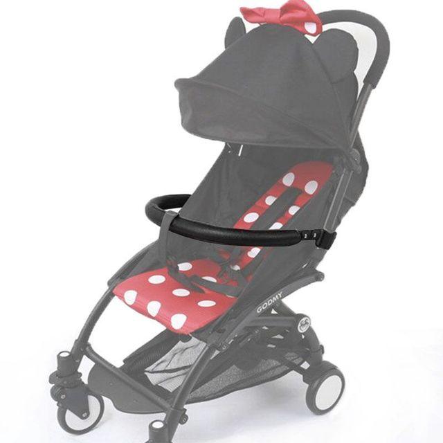 Stroller Bar Handlebar Bar Armrest for Baby Yoya Babyzen Yoyo Stroller Handle Bumper Bar for  Handrest Trolley Accessory