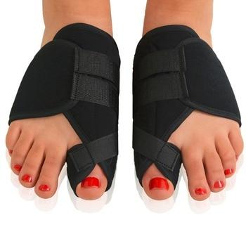 1 Pair Soft Bunion Corrector Toe Separator Splint Correction Medical Hallux Valgus Foot Care Pedicure Orthotics Tool 1