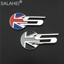 Автомобильная наклейка для jaguar s флаг Великобритании эмблема