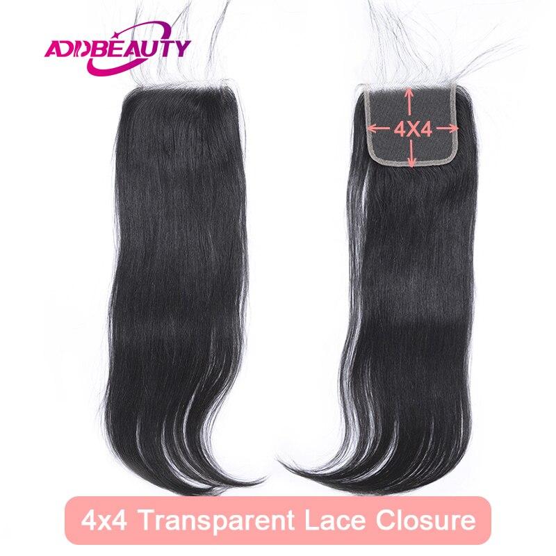 4x4 hd laço transparente fechamento reto virgem um-doador brasileiro cabelo humano 13x4 base de seda laço frontal parte livre natural