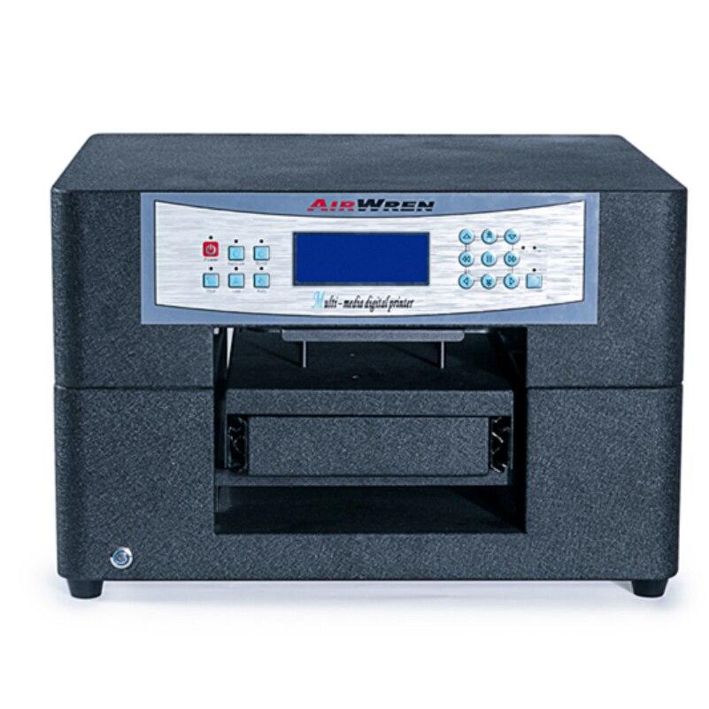 A4 Size Goedkope Direct Naar Kledingstuk Printer Voor T shirt Drukmachine Met Textiel Inkt - 3