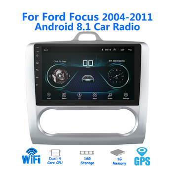 9 inch 2din Android 8.1 Car Radio for 2005-2011 Ford Focus Autoradio GPS Navigation Bluetooth Stereo Multimedia player Autoradio image