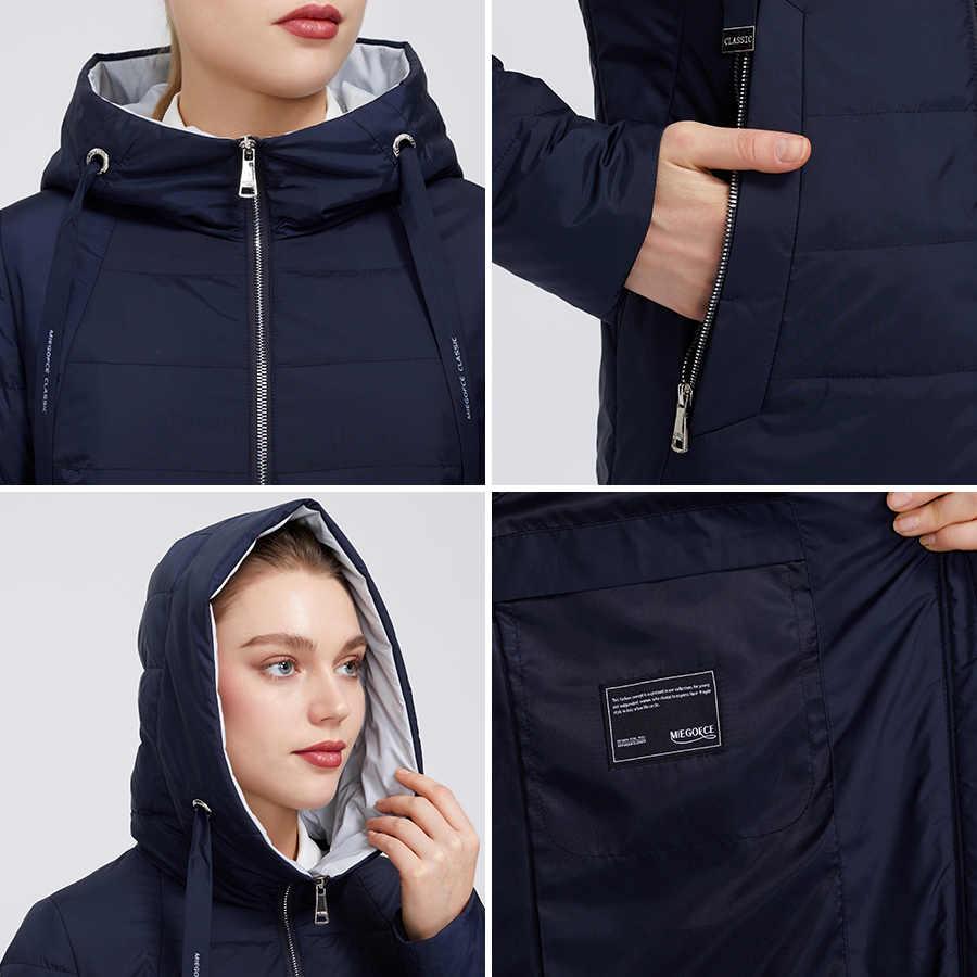 MIEGOFCE 2020 새로운 디자인 봄 자 켓 여성 코트 Windproof 따뜻한 여성 파 카 유럽과 미국 여성 모델 여성 코트