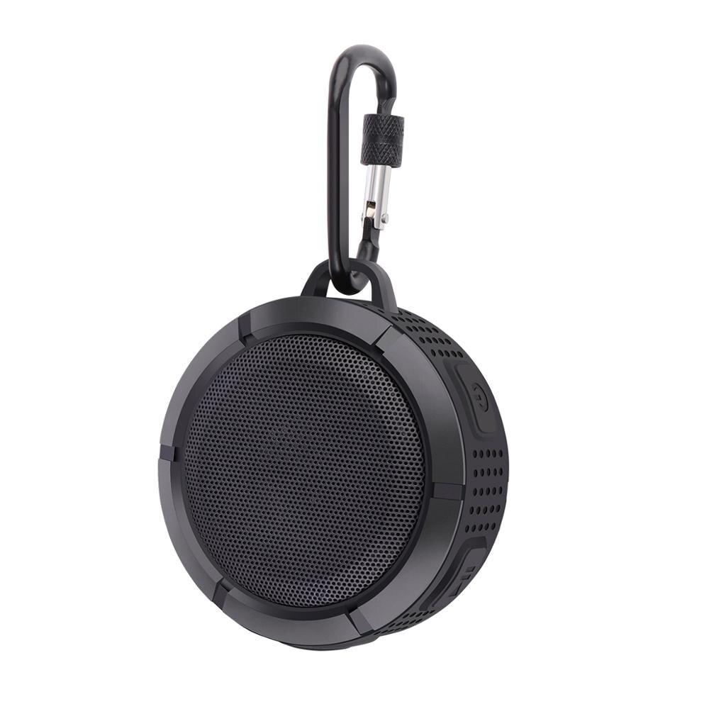 Caixa de som bluetooth stereo ix67, mini caixa de som portátil, à prova dágua, ar livre, com graves