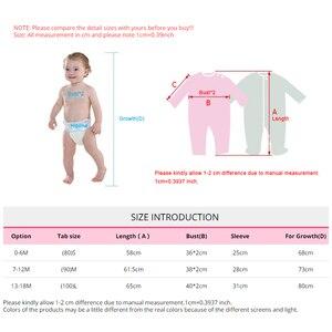 Image 5 - עבה חד חתיכות Romper עבור תינוק יילוד בתוך בתוספת קטיפה רך חורף פעוט סרבל תינוק פעוט בגדי גוף חליפה