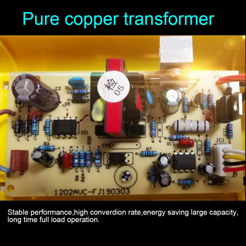 Manutentor de bateria portátil, para carro, barco,