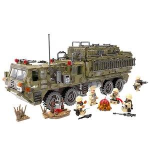 XINGBAO Genuíno 06014 Auto-Bloqueio de Tijolo лего Scorpio Caminhão Pesado Soldado Das Forças Especiais Militares Blocos De Construção De Brinquedo Educação