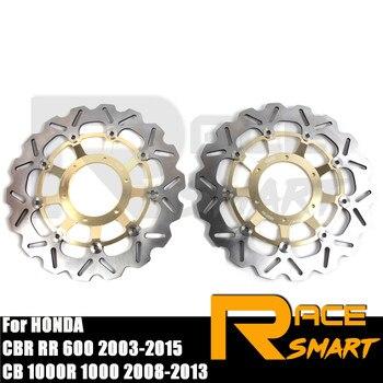 Discos de freno delantero de motocicleta para HONDA CB1000R 2008-2016, rotores de disco de freno CB 1000R CB1000 R ABS CB1000R 2009-2017 2010