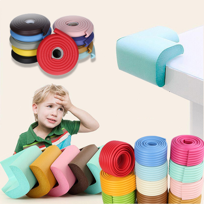 Baby And Children Safety Corner Table Protector Cutting Design Child Necessary Protection Child Safety Tape Edge Corner Guards