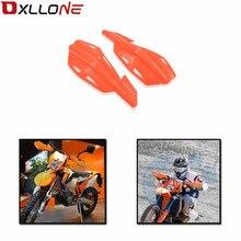 الألومنيوم اليد الحرس دراجة نارية acsesorios handguards موتوكروس لكاواساكي DR Z125 2006 2007 2008 2009 2012 2013 DRZ125