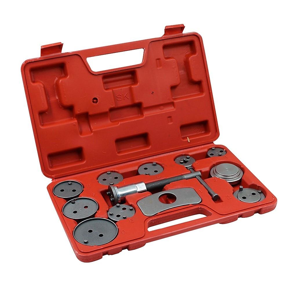 12 Pcs/Set Auto Car Brake Disc Caliper Wind Back Tool Kit Precision Brake Piston Pump Pad Repair Tools