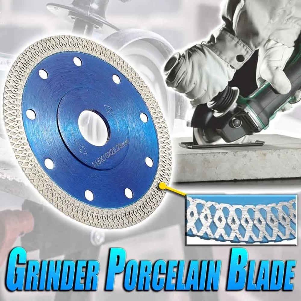 Turbo Diamond Saw Blade Disc Porcelain Tile Ceramic Granite Marble Cutting Blades For Angle Grinder Diamond Saw Blade