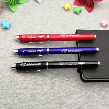 Gift idea For mr mrs wedding personalized pens custom free with any logo text 5 colors to choose
