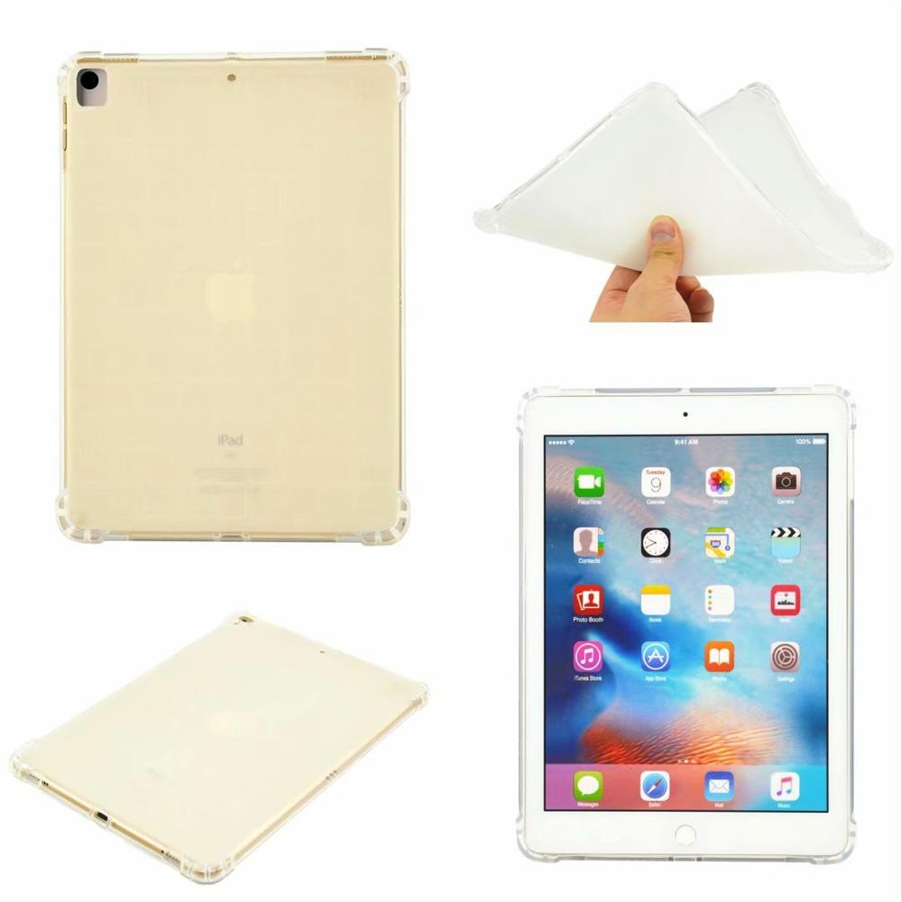 Clear Red High Duty Coque for iPad 10 2 Case Shockproof A2200 A2198 A2233 Soft Silicone TPU Gradient