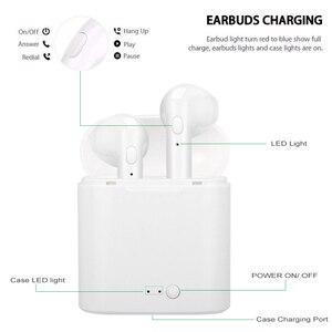 Image 3 - I7s Tws sans fil casque Bluetooth 5.0 écouteurs Air écouteurs mains libres dans loreille casque avec chargeur boîte pour iPhone huawei Xiaomi