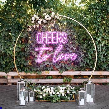 Cheers To Love Neon Sign
