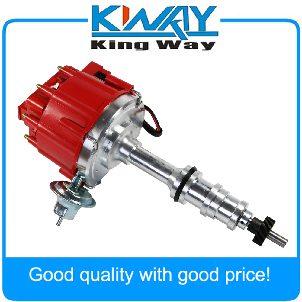 Free Shipping-Red Cap HEI Distributor For Ford