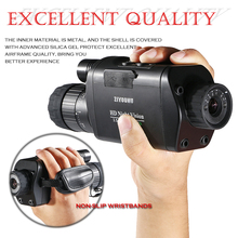 WIFI Connection IR Digital Night Vision-Device 3.5-10.5X Magnification Monocular Day & Dual Use Vision Hunting Scope