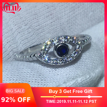 Handmade Eye Shape 100% Solid 925 (China)