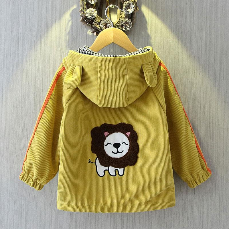 Spring Children toddler girl Coat Autumn Kids Jacket Boys Outerwear Coats Active Boy Windbreaker Baby Clothes Clothing 2-8y