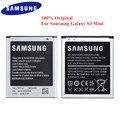 100% Оригинальная Аккумуляторная батарея для Samsung Galaxy S3 Mini EB-F1M7FLU i8200 i8190 S7562 G313 i8190N I8190L 1500 мАч высшего качества