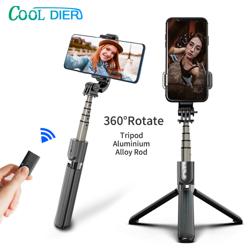 High quality Wireless bluetooth Selfie Stick Tripod With Remote Palo Selfie Extendable Foldable Monopod For Iphone Action Camera 5