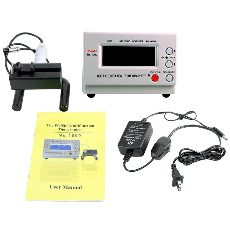Orologio meccanico Tester Timing Timegrapher per Riparatori e Hobbisti, N ° 1000