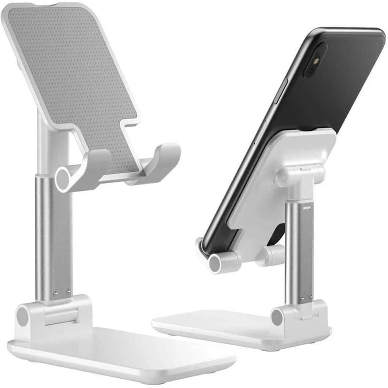 Foldable Metal Desktop Phone Stand Holder Adjustable Alloy Portable  Ergonomic Design Mobile Phone Holder|Phone Holders & Stands| - AliExpress