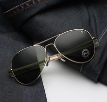 Jackjad óculos de sol, masculino, estilo aviador, militar, do exército, macartrô, lentes americanas