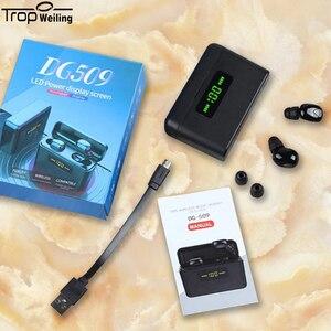 Image 5 - 真ワイヤレスイヤフォン tws led disply bluetooth イヤホン 5.0 bluetooth ワイヤレスヘッドフォンスポーツヘッドセット