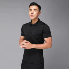 Рубашка для гольфа одежда мужские рубашки летняя дышащая эластичная