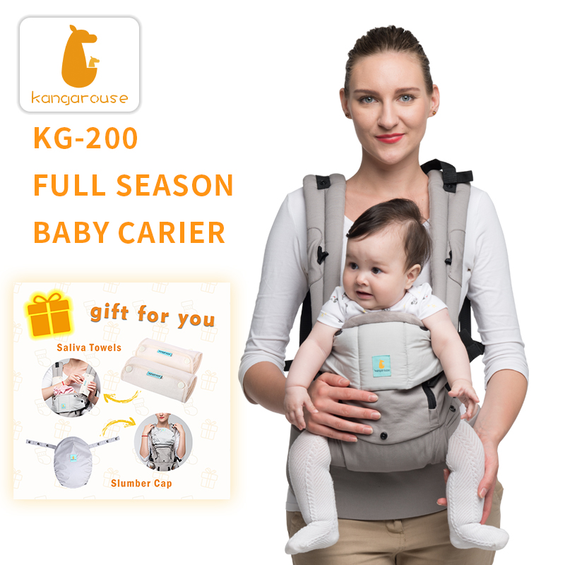 Кенгуру, хлопковая эргономичная переноска для младенцев, слинг для новорожденных до 36 месяцев, кг-200
