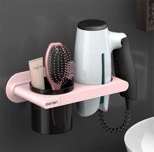 Mensola bagno per portaoggetti bagno porta asciugacapelli porta asciugamani organizzatore bagno porta asciugamani a parete