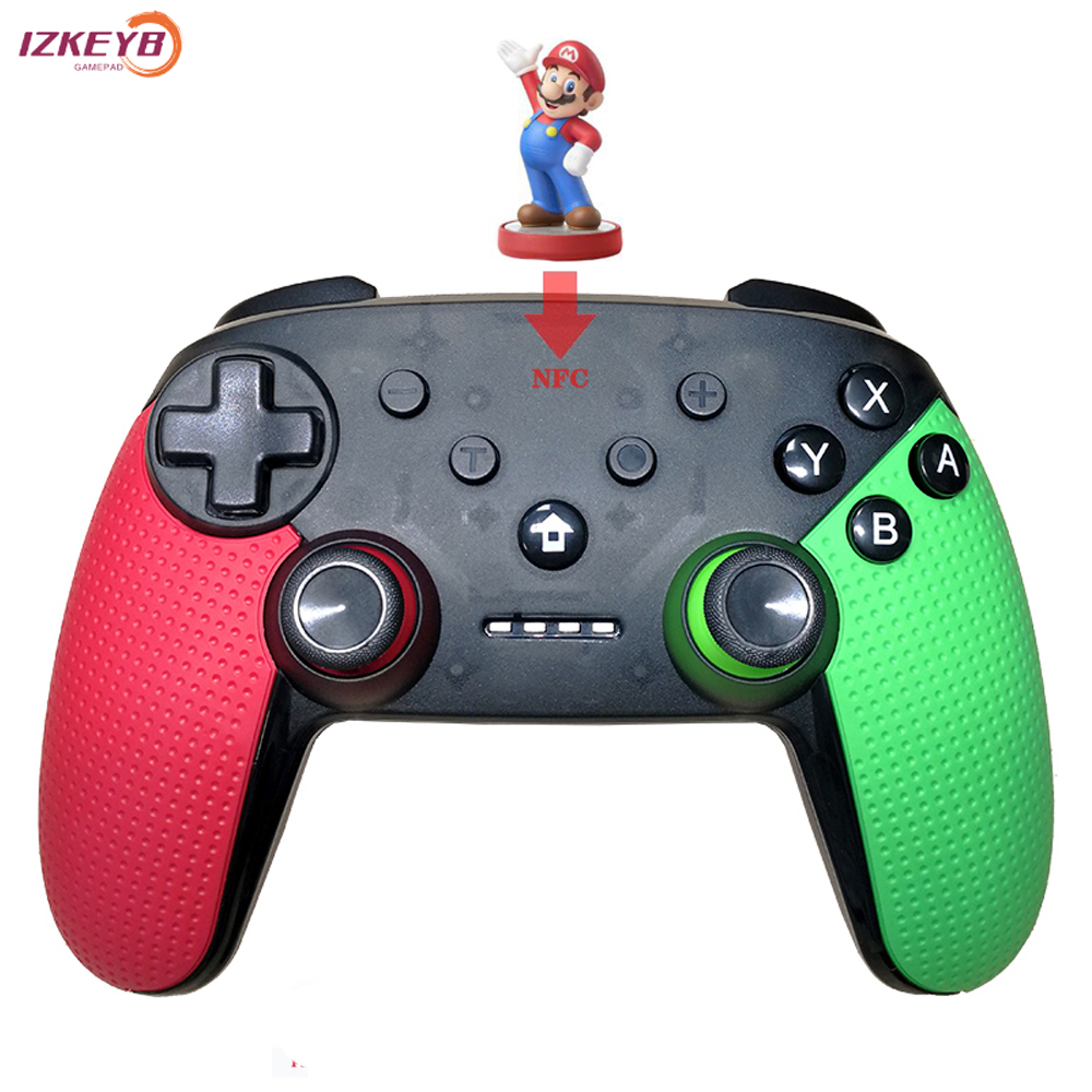Wireless Switch Controller With NFC NS Bluetooth Gamepad Joystick For Nintend Switch/ Switch lite/PC/Steam image
