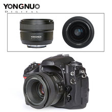 YONGNUO YN50mm F1.8 عدسات لكاميرات كانون EOS 70D 5D2 5D3 600D 350D 450D YN35mm F2.0 عدسة فتحة كبيرة السيارات التركيز كاميرا العدسات 2020