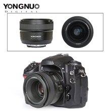 YONGNUO YN50mm F1.8 Lens for Canon EOS 70D 5D2 5D3 600D 350D 450D YN35mm F2.0 Lens Large Aperture Auto Focus Camera Lenses 2020