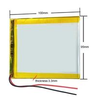 Melhor marca de bateria 3388107 3590100 3.7 v 6000 mah tablet atualizar bateria para tablet smartq t20 a86 duplo núcleo p85 u35gt duplo c