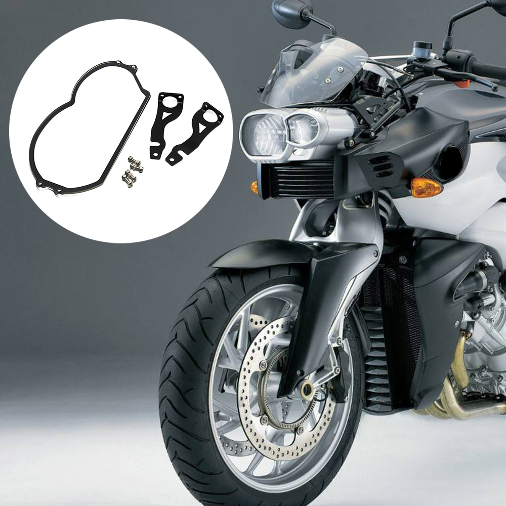 Motorcycle Styling Headlight Cover Headlight Transparent Protector Guard Acrylic Fit For BMW R 1200 GS 2004-2012
