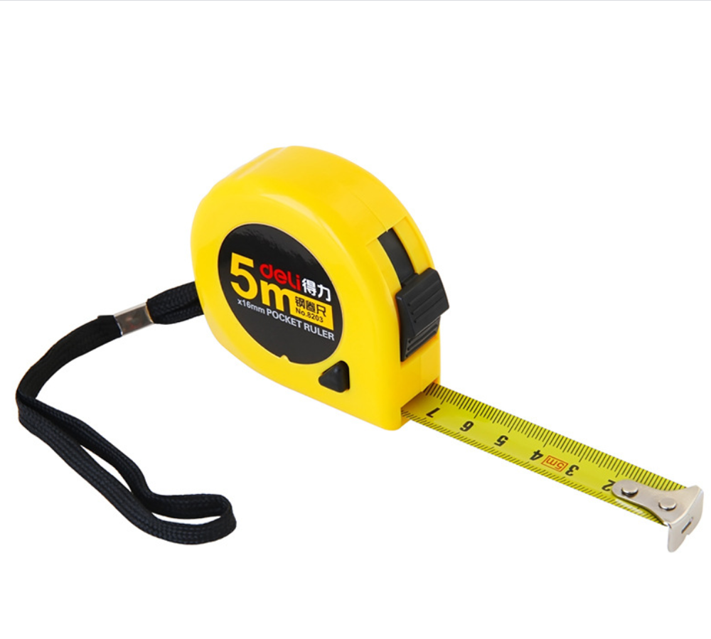 3m 5m Steel Pocket Ruler Tape Ruler Band Tape Flexible Rulers Line Drawing Tool Office School Supplies  Measuring Tool