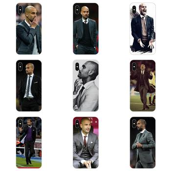For Samsung Galaxy Note 5 8 9 S3 S4 S5 S6 S7 S8 S9 S10 5G mini Edge Plus Lite Thin TPU Cell World Famous Pep Guardiola image