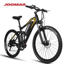 Joomar bicicleta elétrica m60 plus mountain bike praia neve mtb 15ah 500w 48v motor 27.5 Polegada ebike bicicleta ao ar livre para homens
