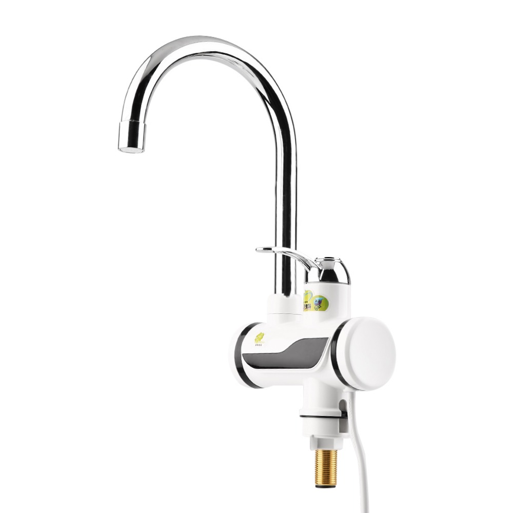 High Quality LED Digital Display Instant Heating Electric Water Heater Faucet Tap New Free Shipping