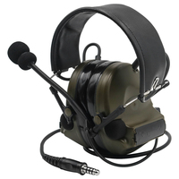 Tactical Comtac II air gun military headset noise reduction headphones shooting hunting hearing protection earmuffs FG