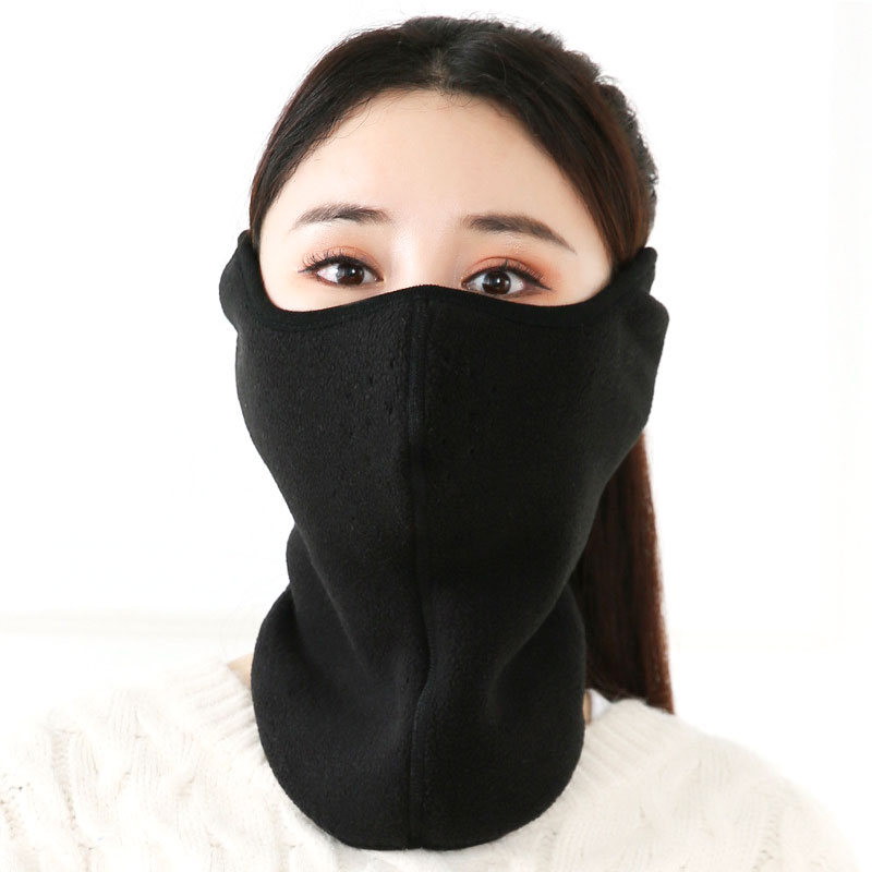 Unisex Women Men Winter Earmuffs Neck Nose Protector Warmer Face Masks Three-in-one Earmuffs Outdoor Cycling Windproof Ear Cover
